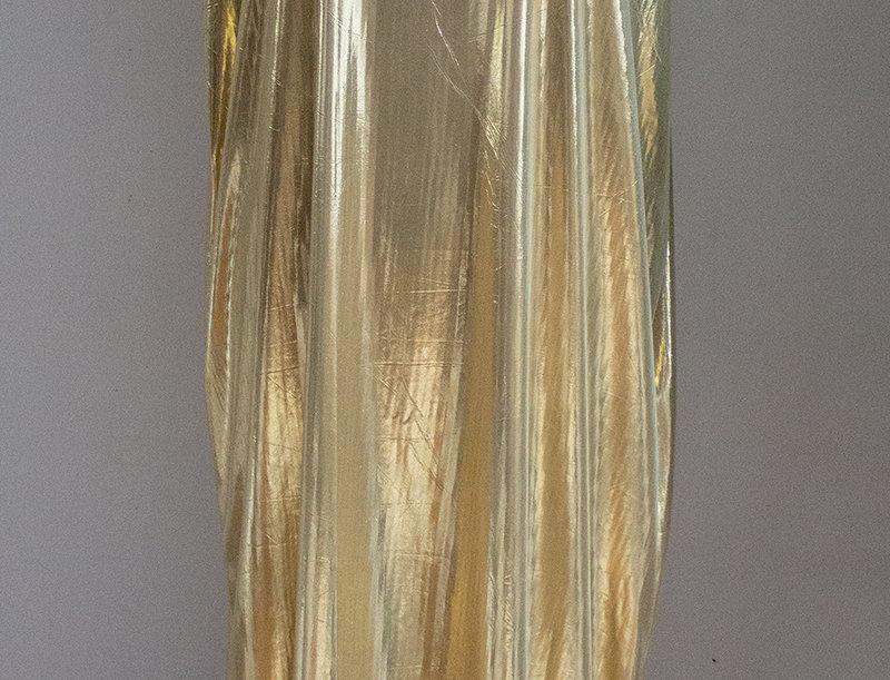 shiny golden unique dress