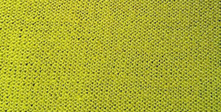 Lime knitted kalevala hood
