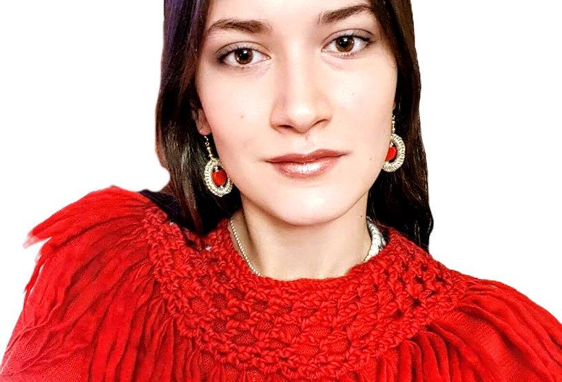 North fringe collar (Red)