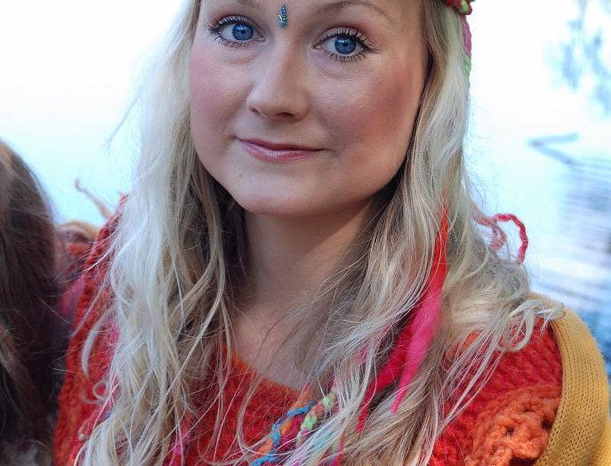 Fairy queen tiara, red