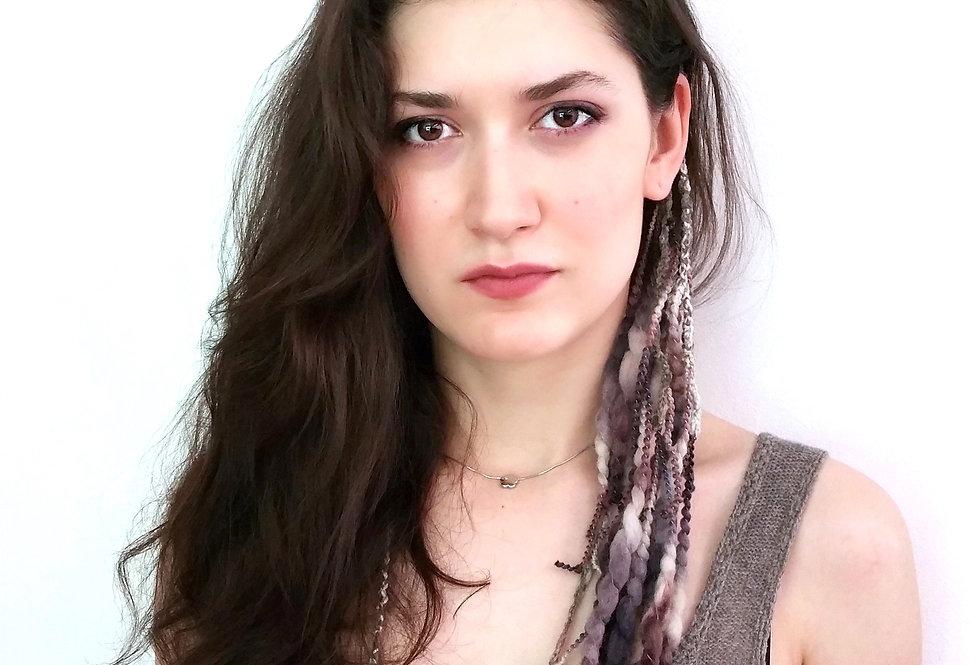 Louhi Hair Dragon clip (Bark)