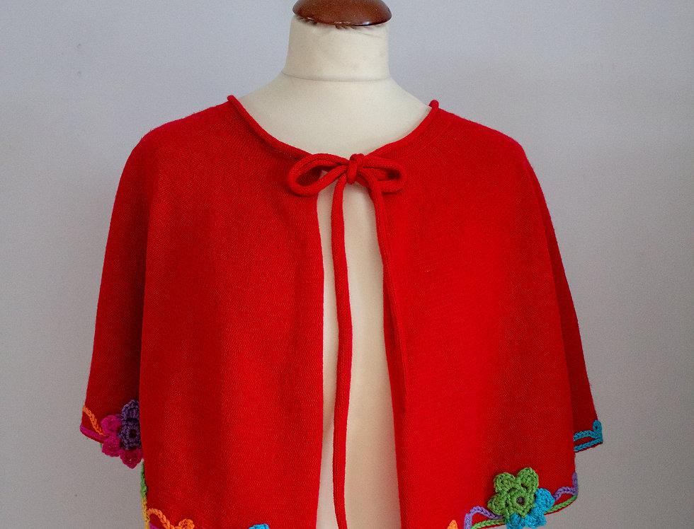 Flower cape
