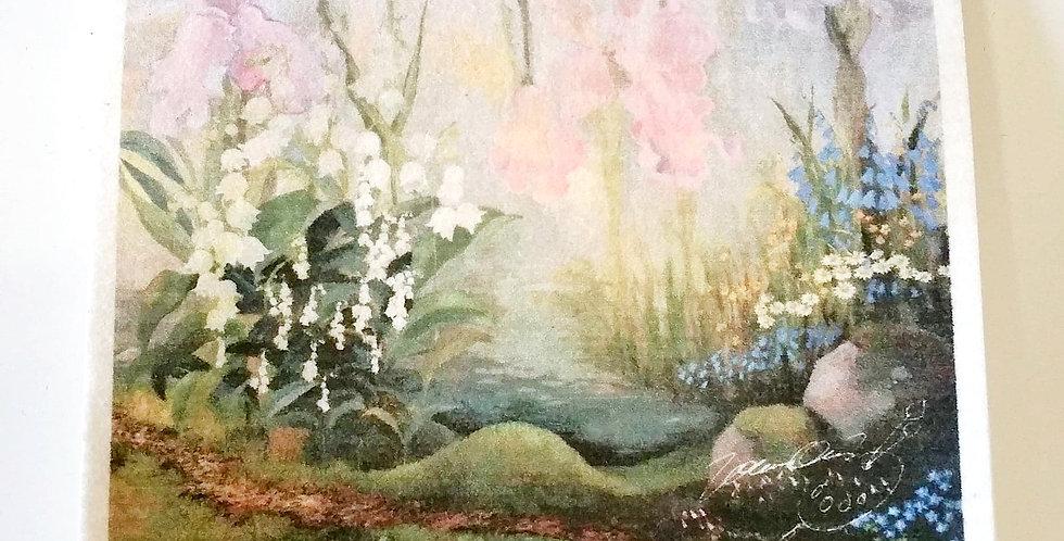 Fairytale dishcloth
