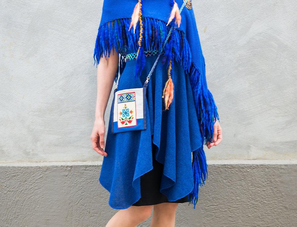 Folkdance bag, blue