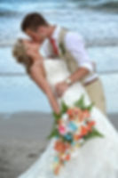 Bride & groom's first kiss
