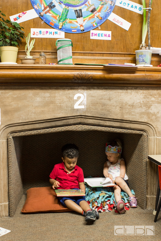 Cozy up with a book. Learning starts here.