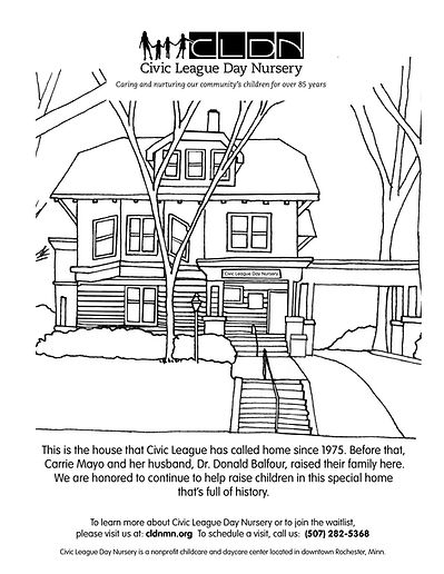 CLDN coloring page