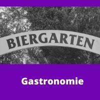 Zutrittskontrolle Biergarten und Gastron