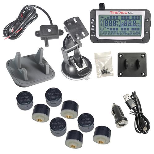 TVR08C-01-001 TireView Kit 6 Cap Mono USB