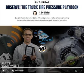 You've heard it all before: Tires are the second-highest annual cost for the average fleet, only behind fuel, and a major component of that is tire pressure. But why is that? What can you do about it?