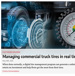 Improper tire inflation is the leading cause of commercial truck tire blowouts and failures. Underinflation causes fleets to prematurely pull tires out of service, while overinflated tires are prone to irregular wear and compromised sidewall strength. Problems also arise when tread depths are mismatched and when fleets mistakenly use the wrong tire for the application, which leads to poor performance and potential hazards on the road.