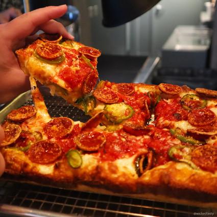 Detroit Style Pizza | $14