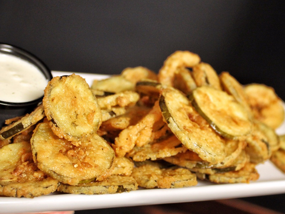 FRIED PICKLES | $7