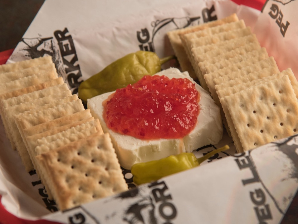 Cream Cheese & Pepper Jelly   6.95