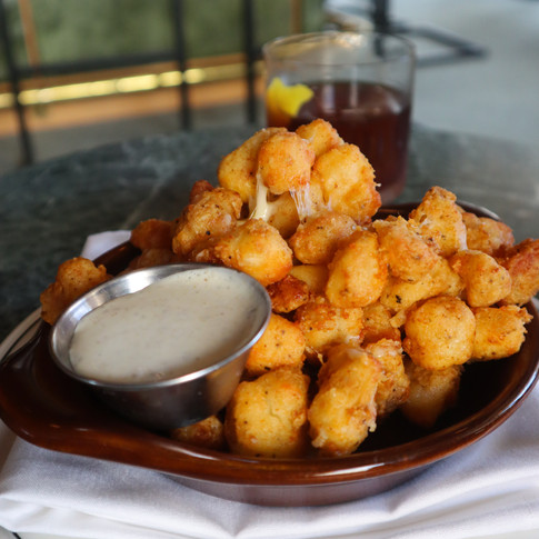 Fried Cheese Curds | $8
