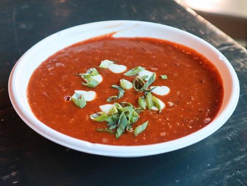 tomato basil soup (gf) | $7
