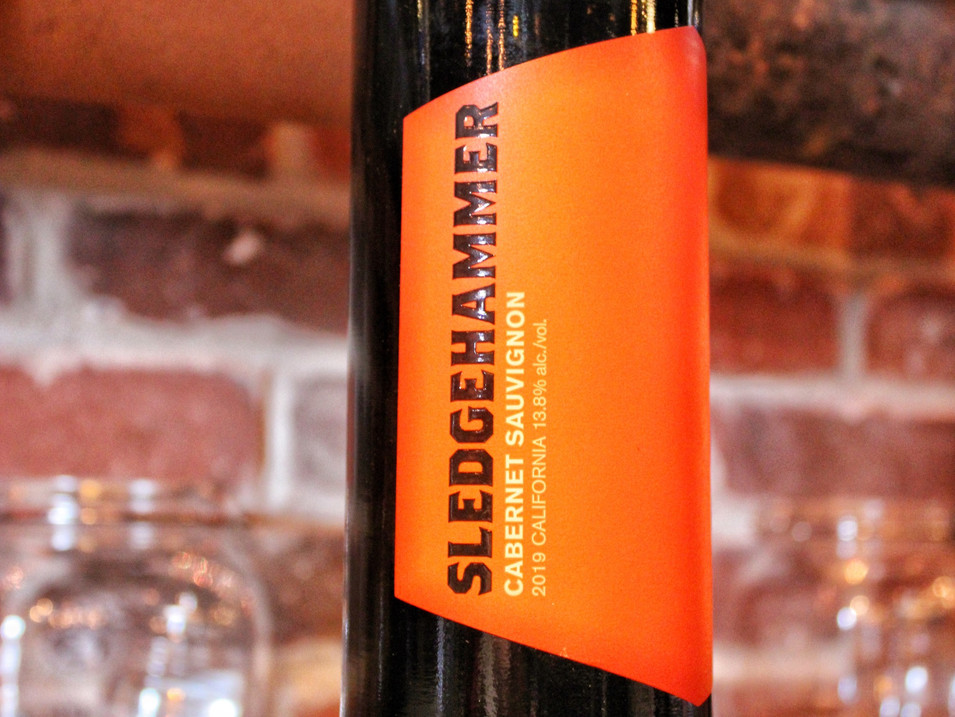 Sledgehammer Cabernet Sauvignon   $11 / $40