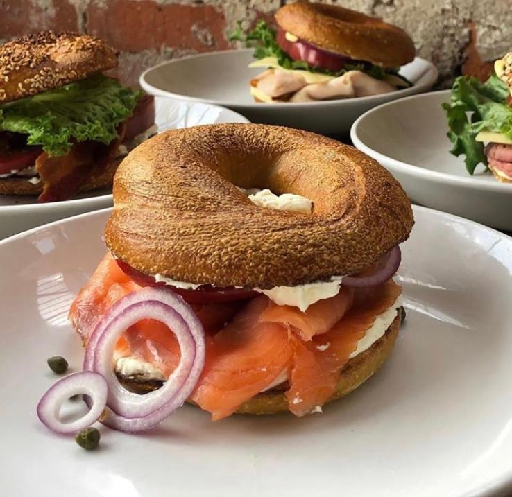 Lox Sandwich | $12
