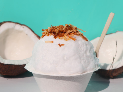 Coconut Shaved Ice   $6