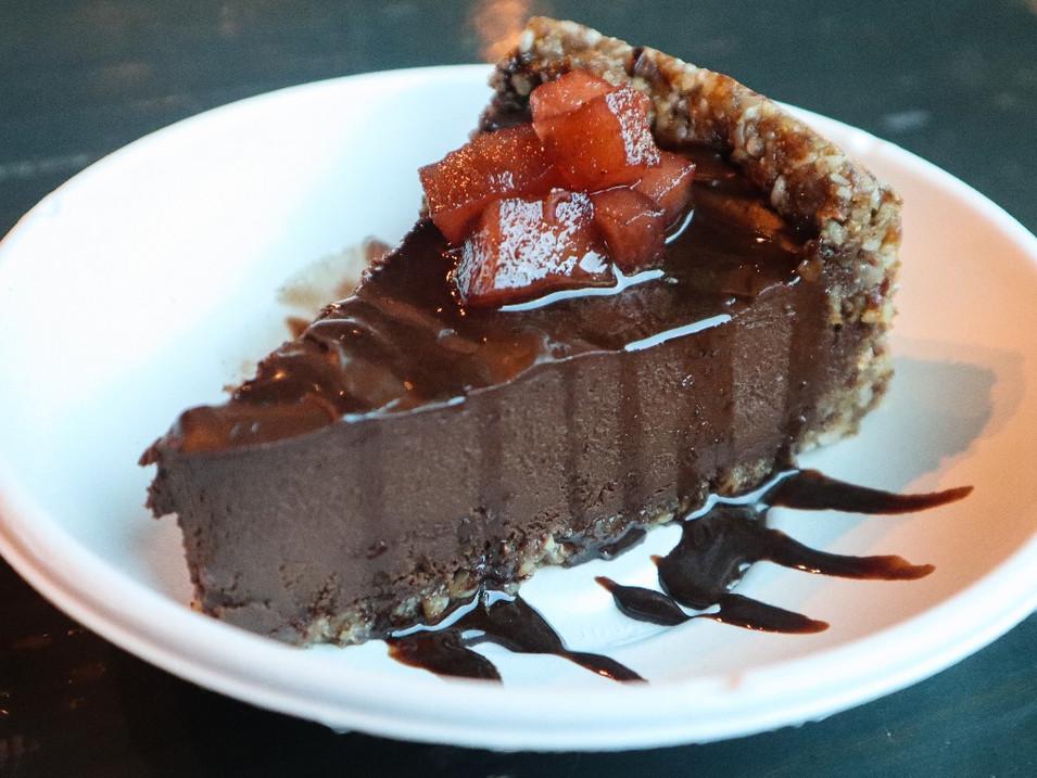 chocolate avocado tart | $9