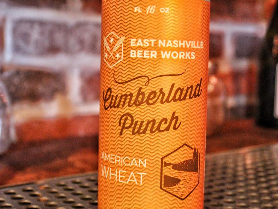 East Nashville Beer Works Cumberland Punch   $7
