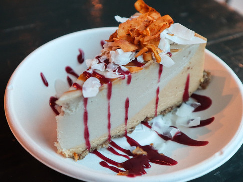 Roatating Cashew Cheesecake | $9