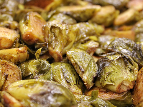 ROASTED BRUSSELS | $4.5