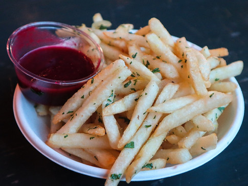 french fries | $4