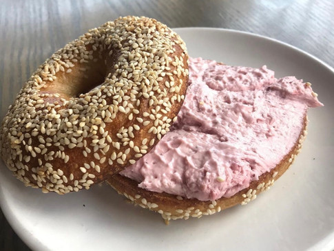 Toasted Bagel | $5
