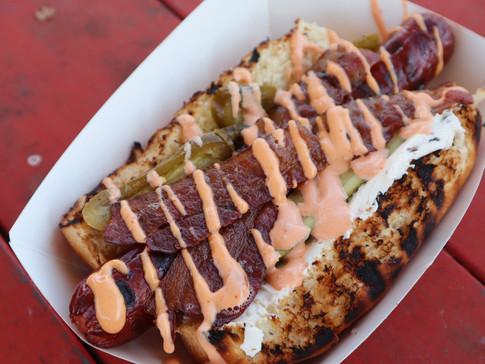 Loaded Hot Dog | $12