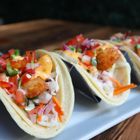 Shrimp Tacos | $12