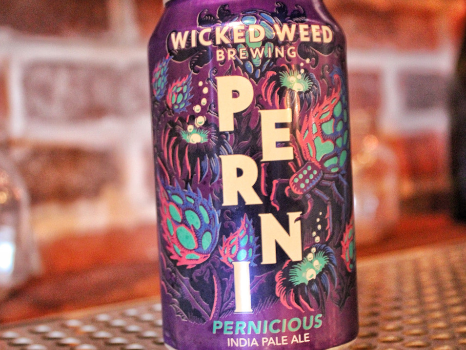 Wicked Weed Pernicious   $6