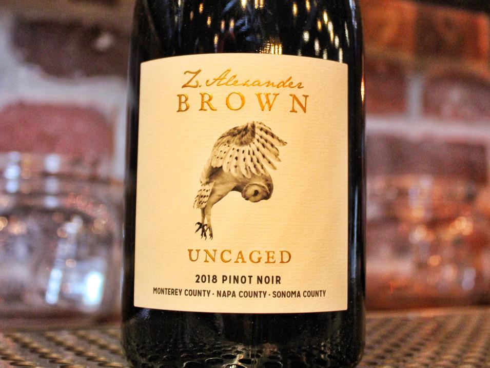 Zachariah Brown Pinot Noir   $12 / $44