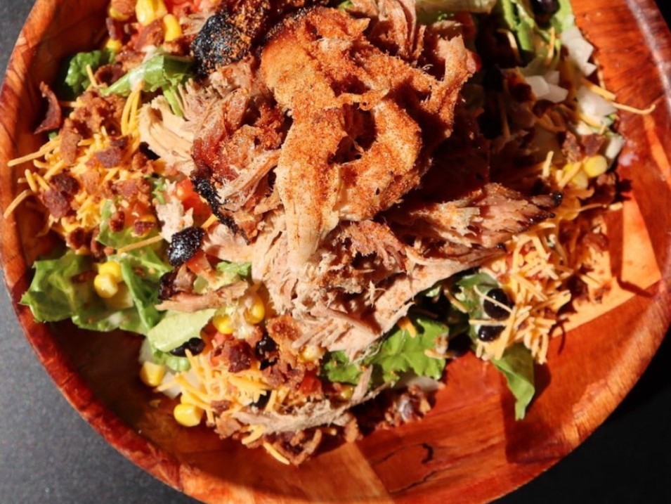 SOUTHWEST BBQ SALAD | $10.95