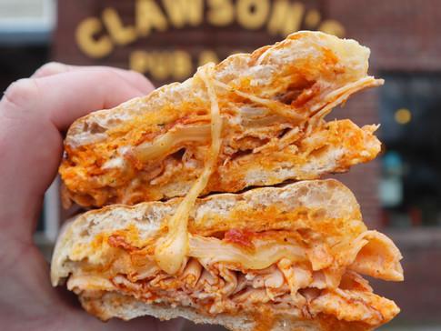 Turkey Bacon Cheddar Melt | $10
