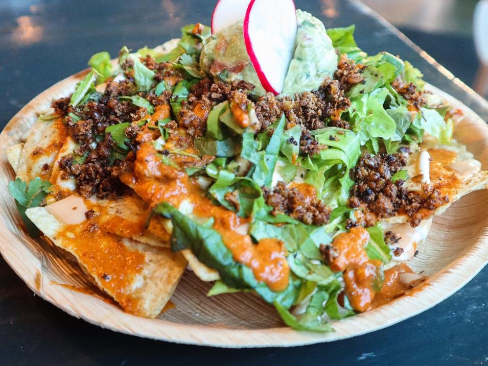 nachos (gf) | $12