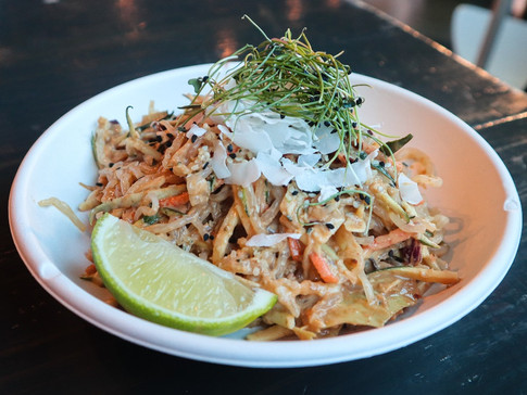 raw pad thai (gf) | $12