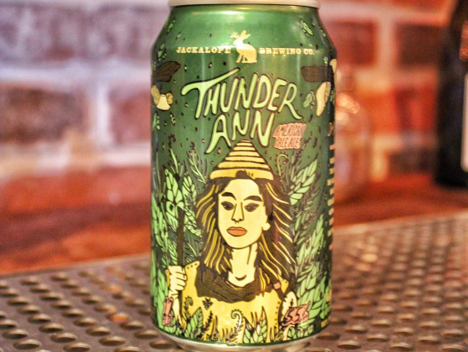 Jackalope Thunder Ann   $6