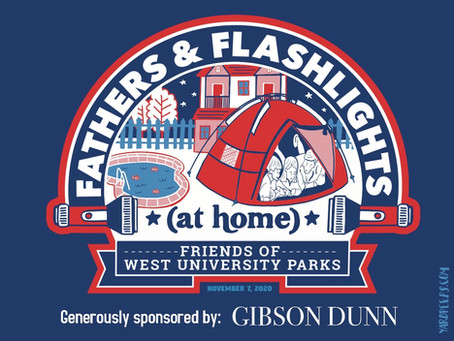 Friends of West University Parks Fathers & Flashlights Changes Things Up With Camp at Home for 2020