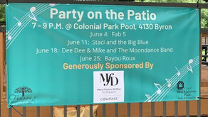 West U Party on the Patio Concert Series Kicks Off June 4!