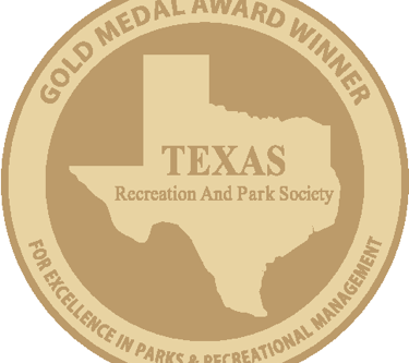 West University Parks and Recreation Department Receives Statewide Gold Medal Award for Excellence