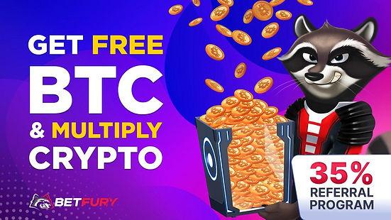 BETFURY BOX get free BTC every 2️0