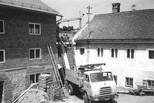 Mühlenumbau 1970