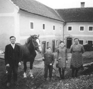 Fam. Reitbauer 1950