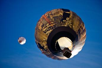 Ballonfahren macht Spaß