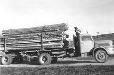Der erste LKW 1960
