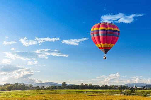 Panorama Ballonfahrt