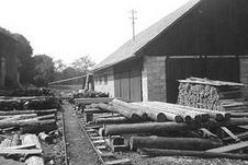 Sägewerk 1960