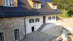 Obersteinriegl - Das Landhaus. Errichtet 1846