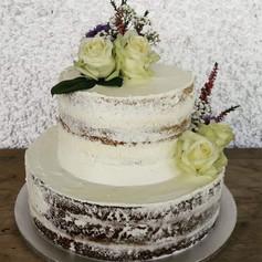 Nur Torte: Hochzeit